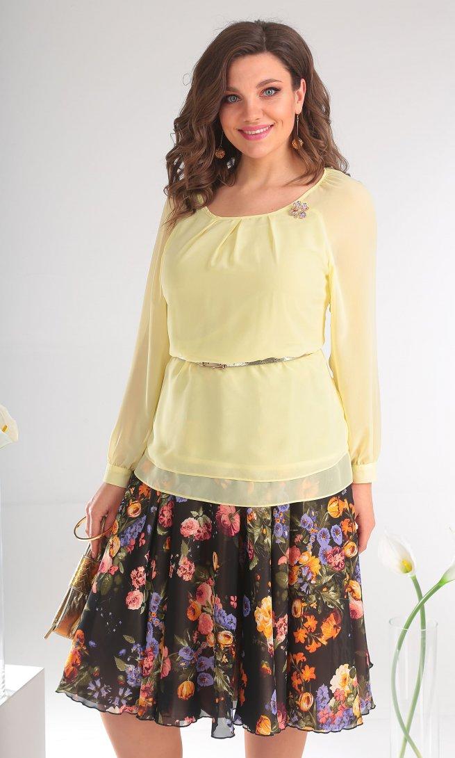Блуза Мода Юрс 2359 лимон