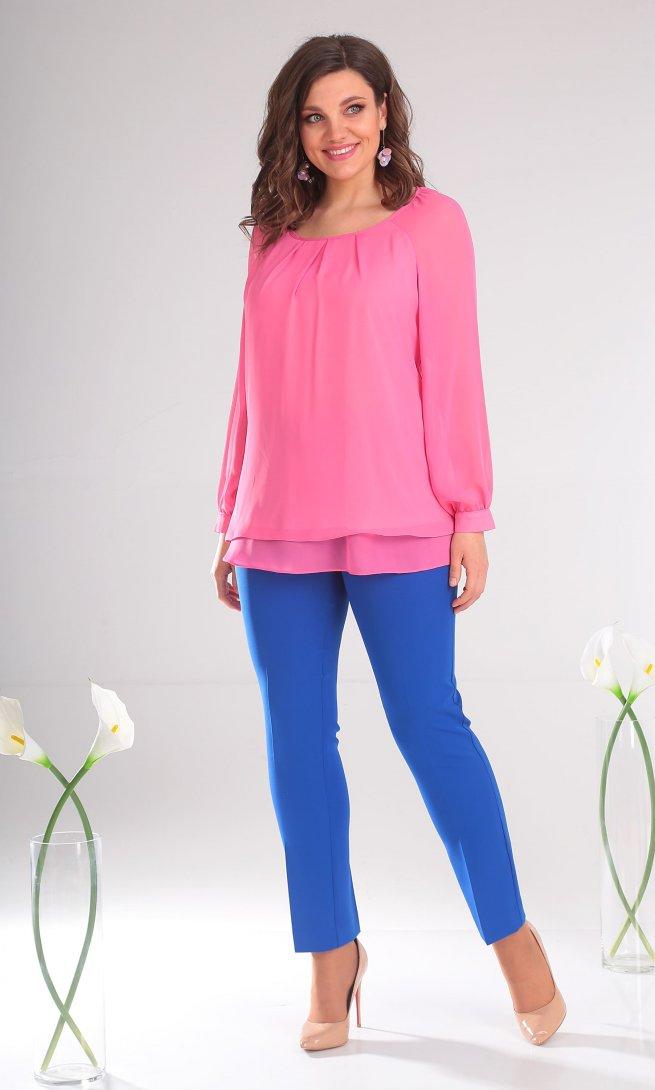 Блуза Мода Юрс 2359 розовая