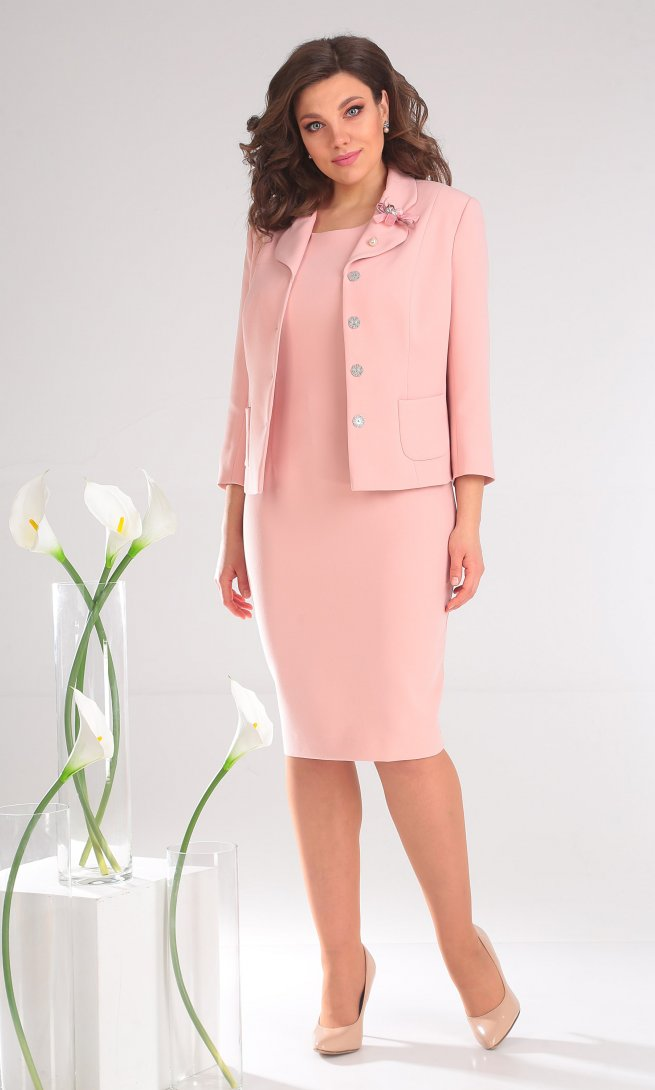 Костюм Мода Юрс 2370 розовый