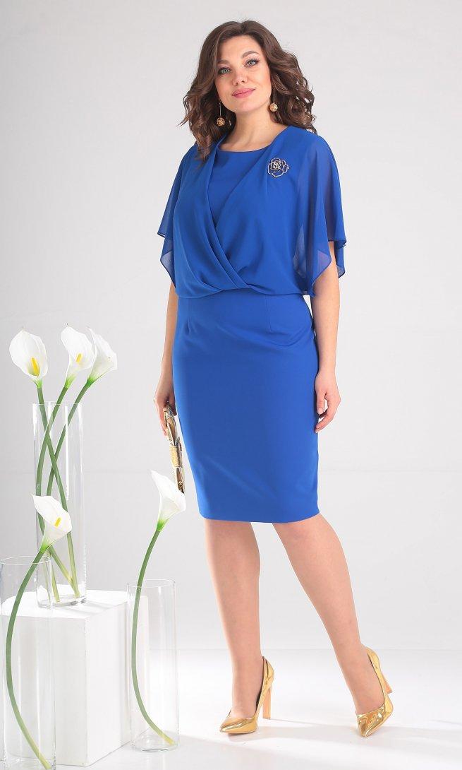 Платье Мода Юрс 2379 василек