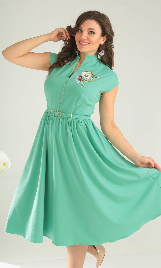 Платье Мода Юрс 2394 мята