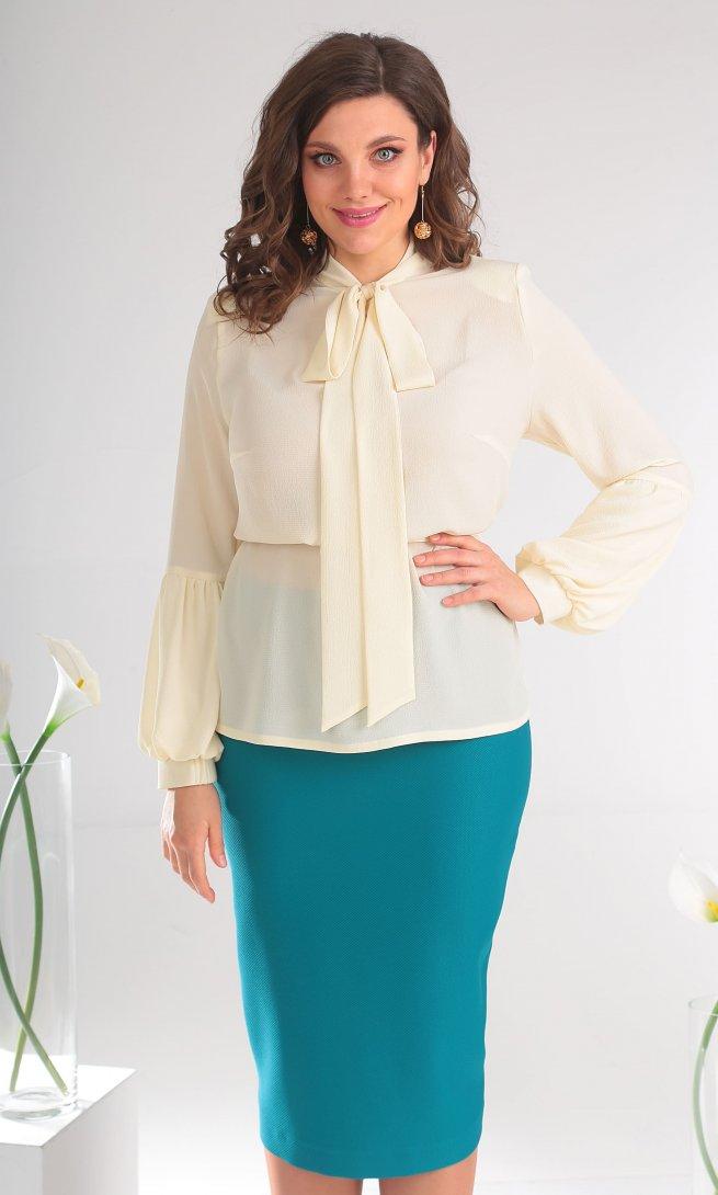 Блуза Мода Юрс 2467 молоко
