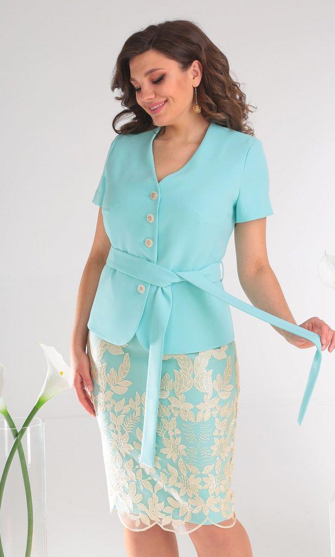 Комплект Мода Юрс 2469 светло-голубой