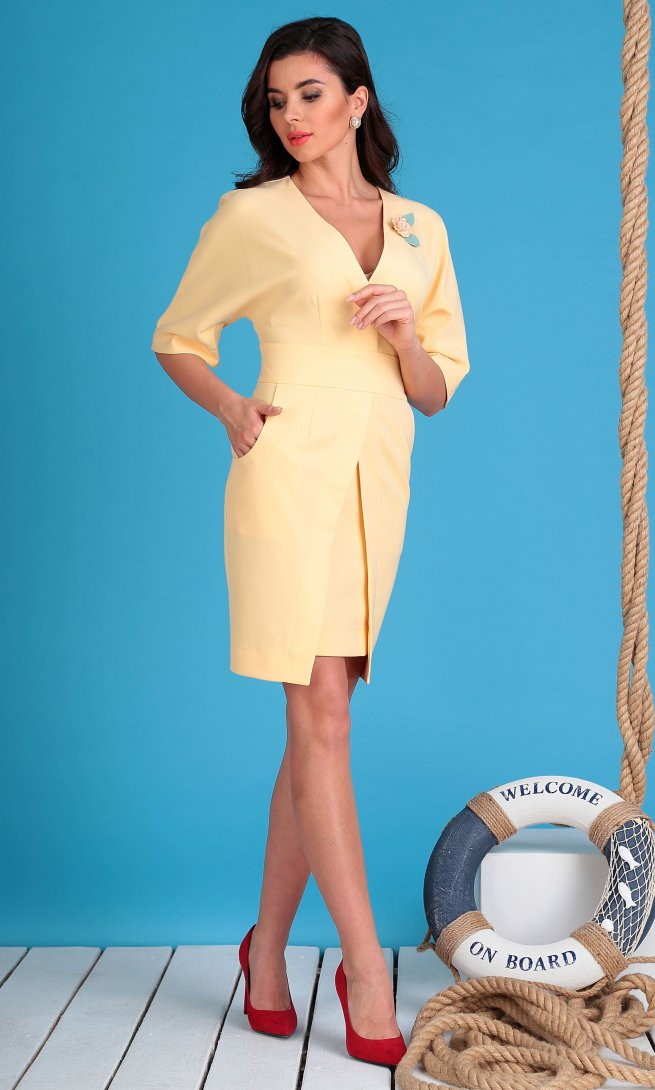 Платье Мода Юрс 2334 персик