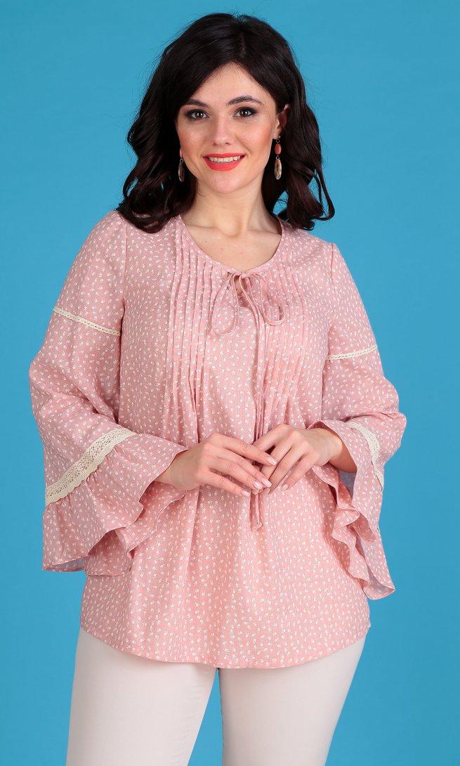 Блуза Мода Юрс 2345 розовая