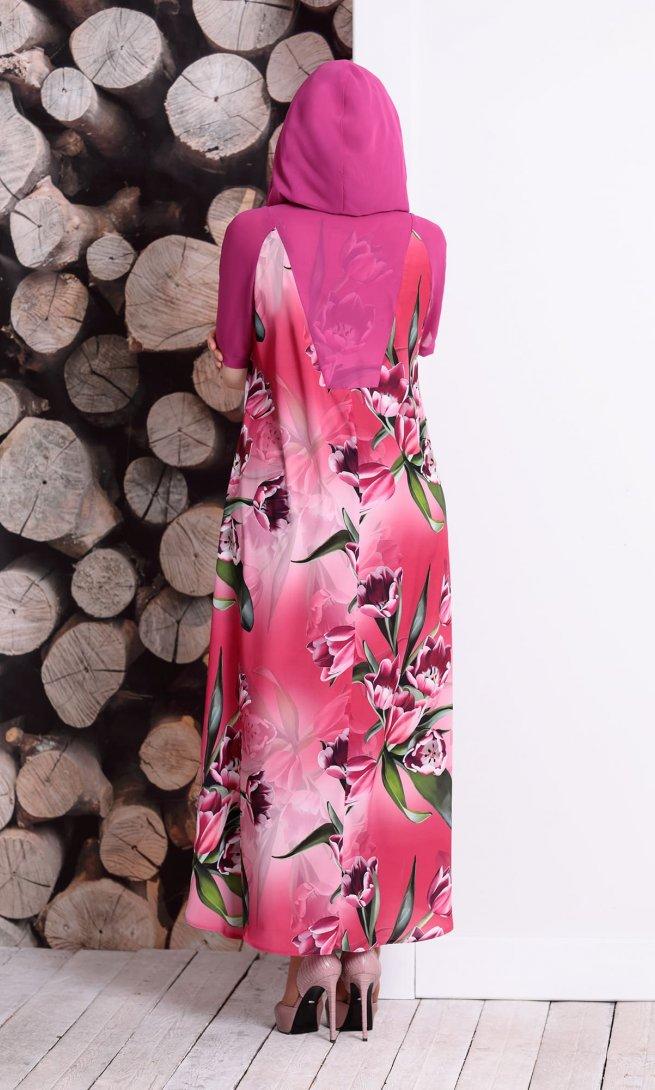 Платье Mubliz 128 фуксия
