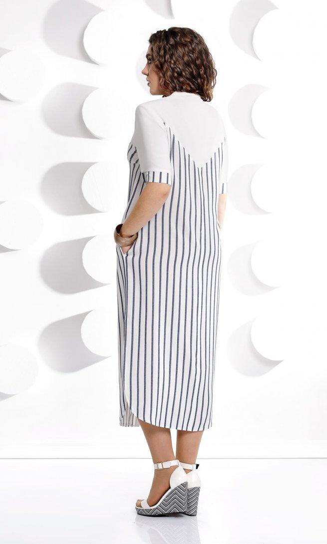 Платье Mubliz 226 узкая полоска