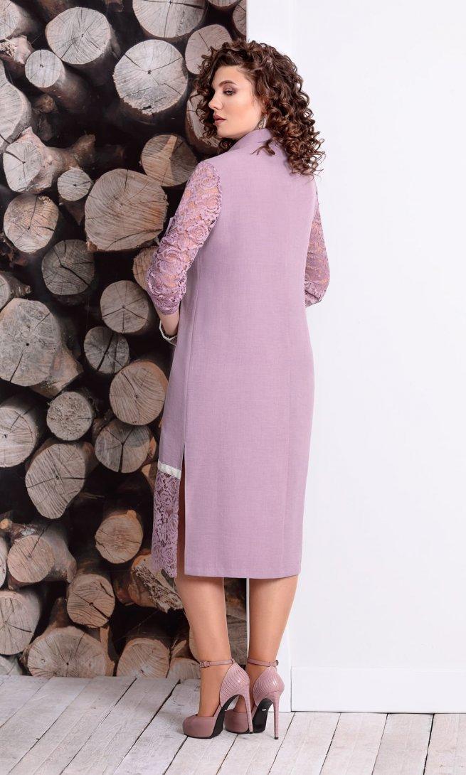 Платье Mubliz 323 пыльная роза