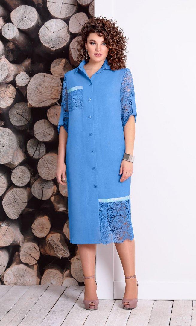 Платье Mubliz 323 василек