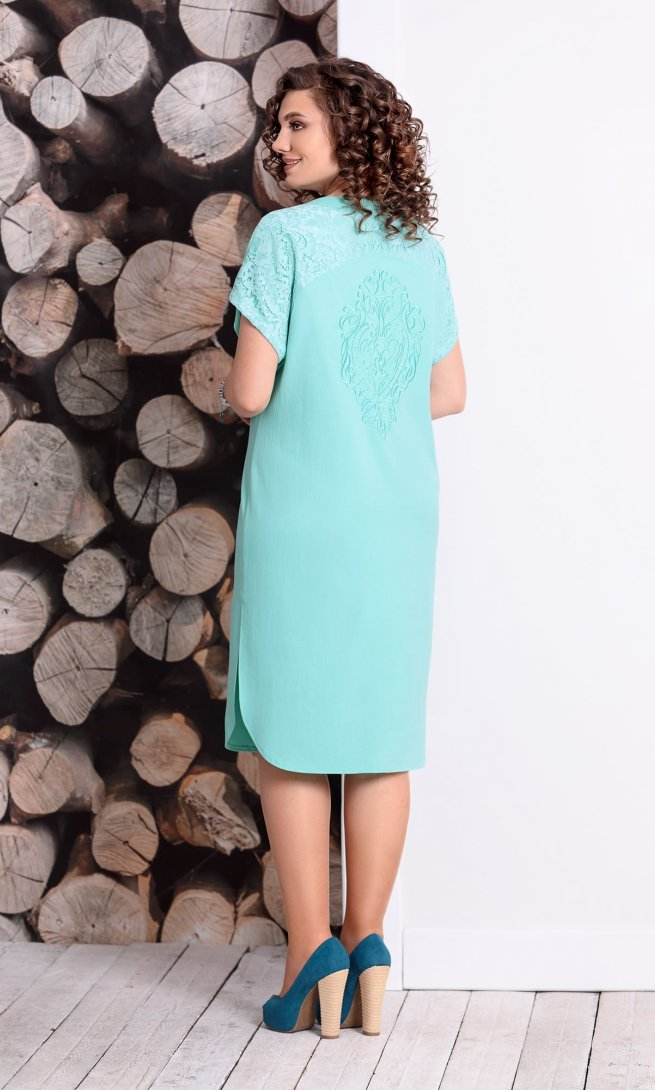 Платье Mubliz 328 мята