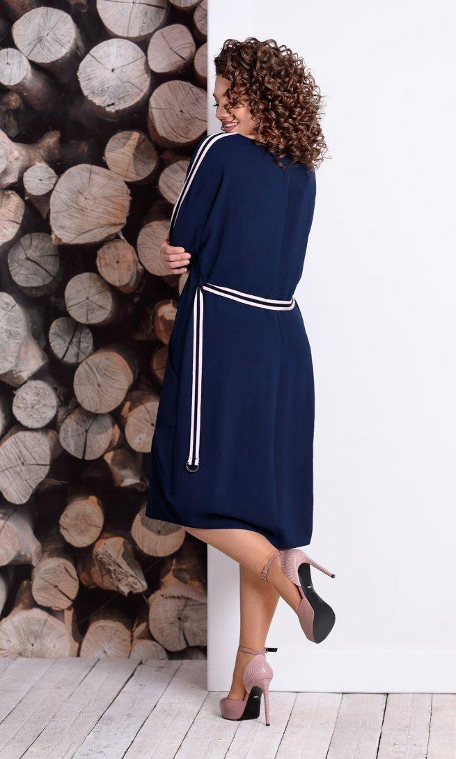 Платье Mubliz 334 синее