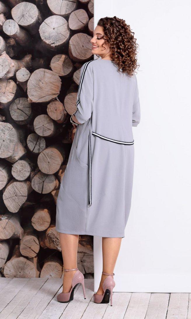 Платье Mubliz 334 серое