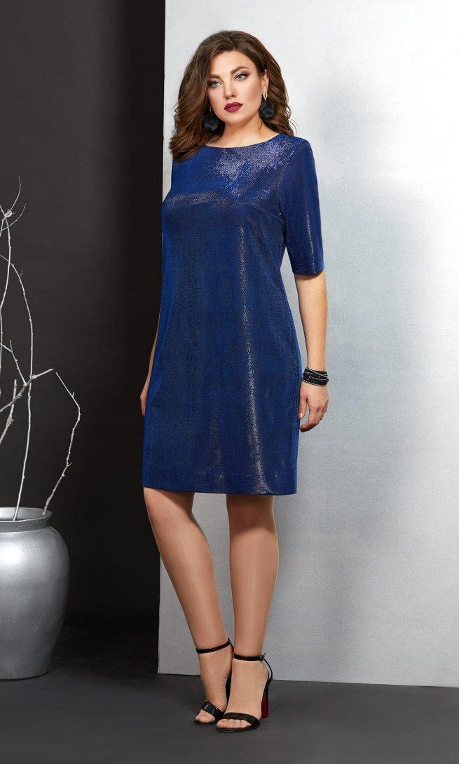 Платье Mubliz 406 василек