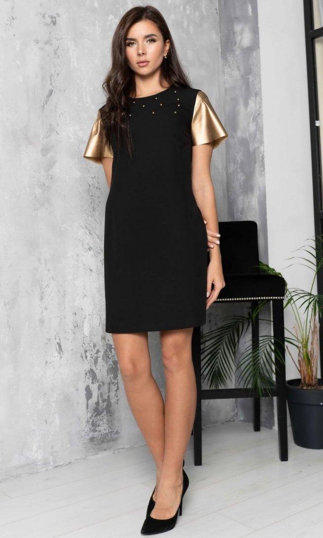 Платье Ladis Line 1156 золото