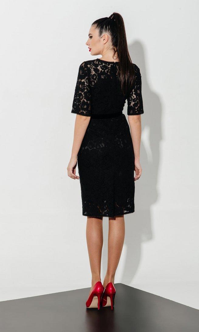 Платье Olegran 611 черное