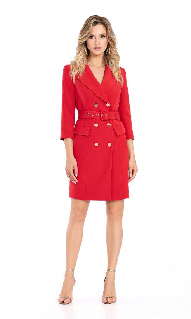 Платье Pirs 694 красное