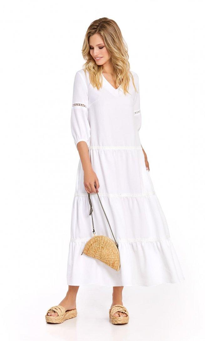 Платье Pirs 724 белое