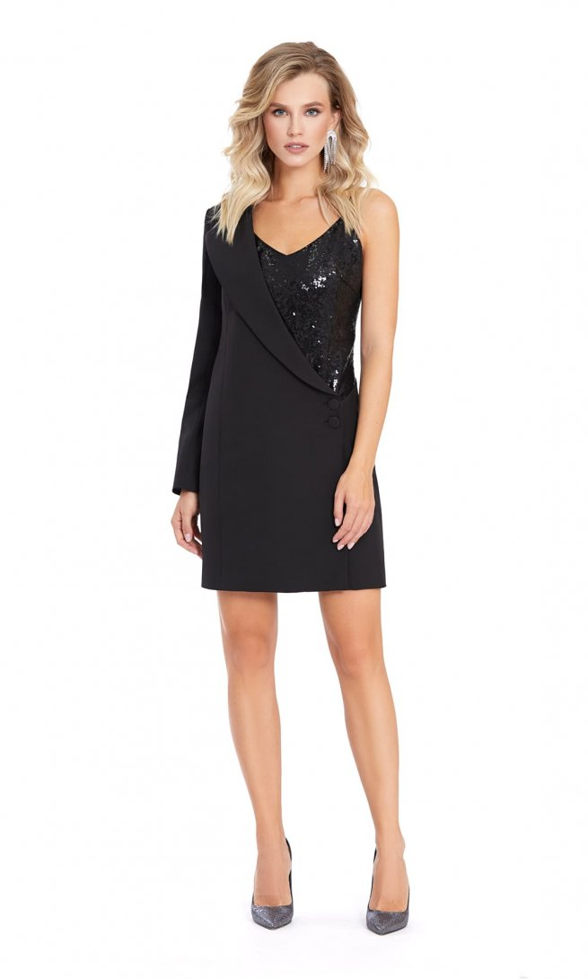 Платье Pirs 870 черное
