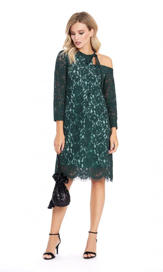 Платье Pirs 882 зеленое