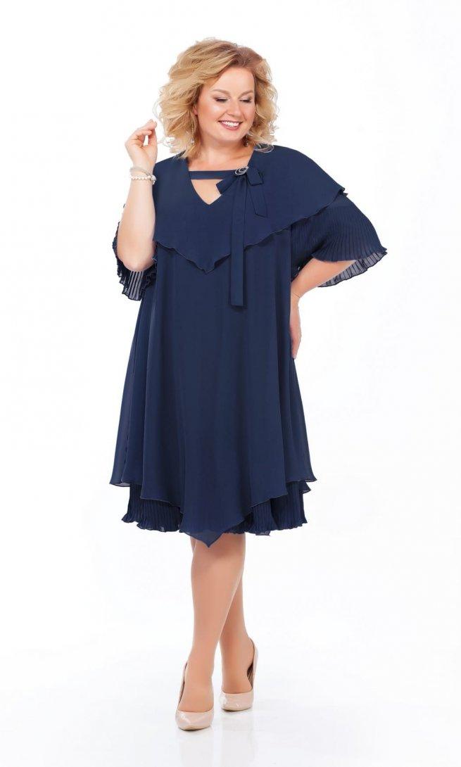 Платье Pretty 912 синее
