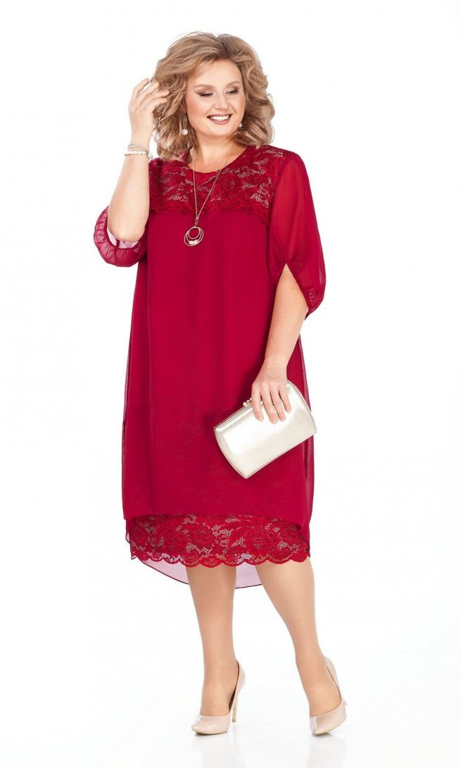 Платье Pretty 917 красное