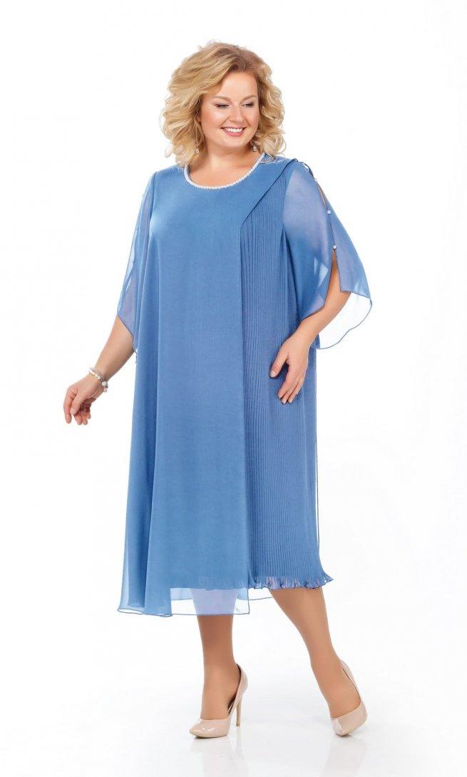 Платье Pretty 918 голубое