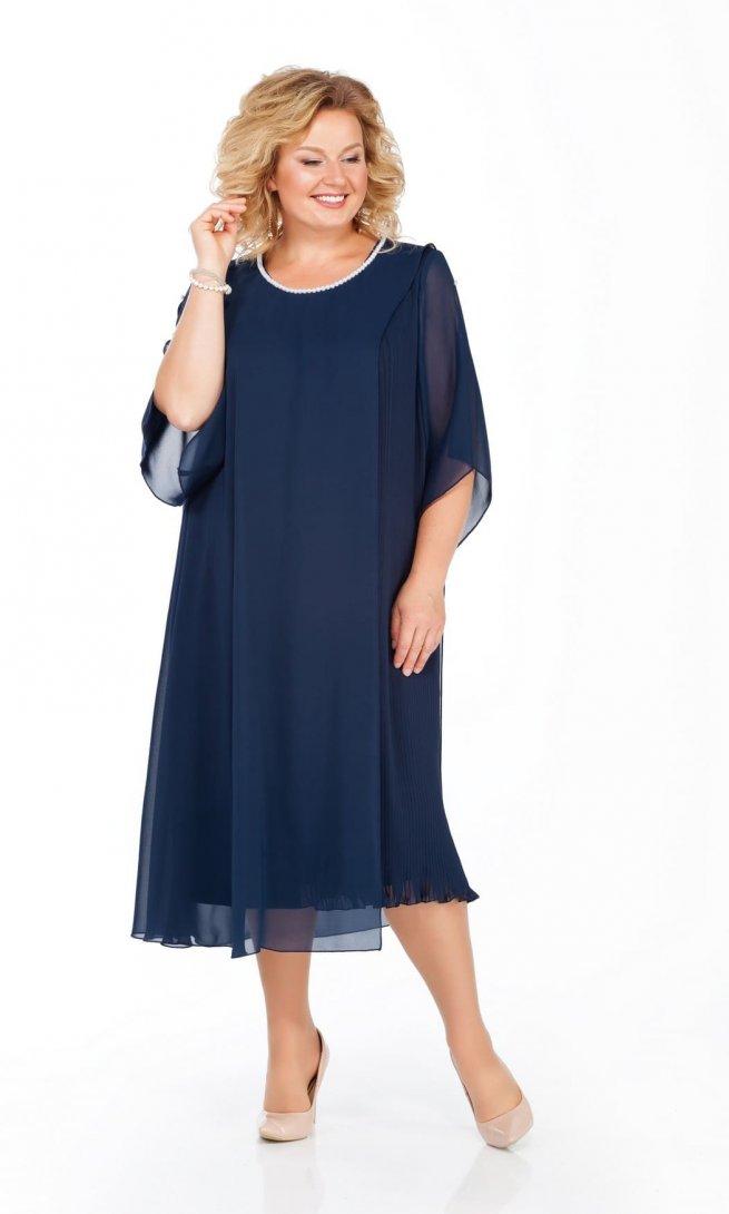 Платье Pretty 918 синее