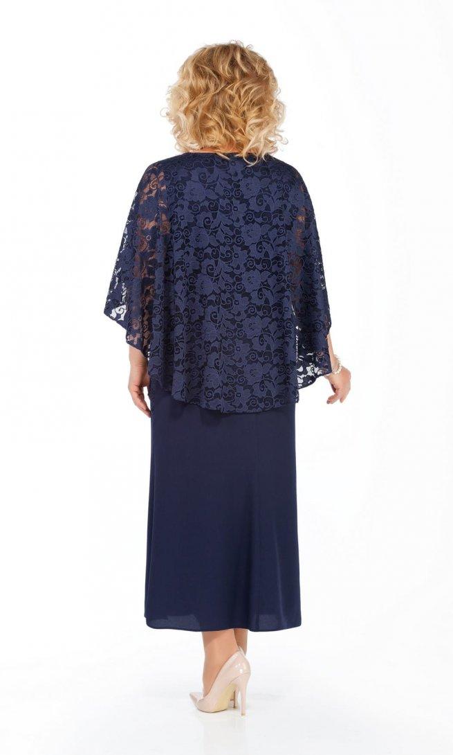 Платье Pretty 920 синее
