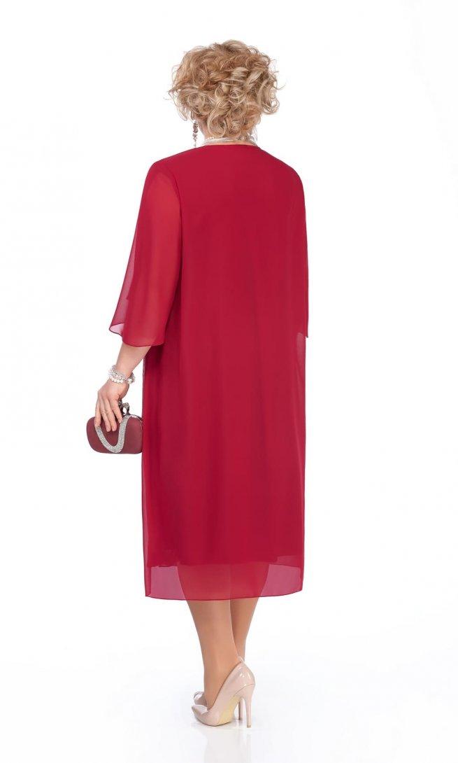 Платье Pretty 960 бордо