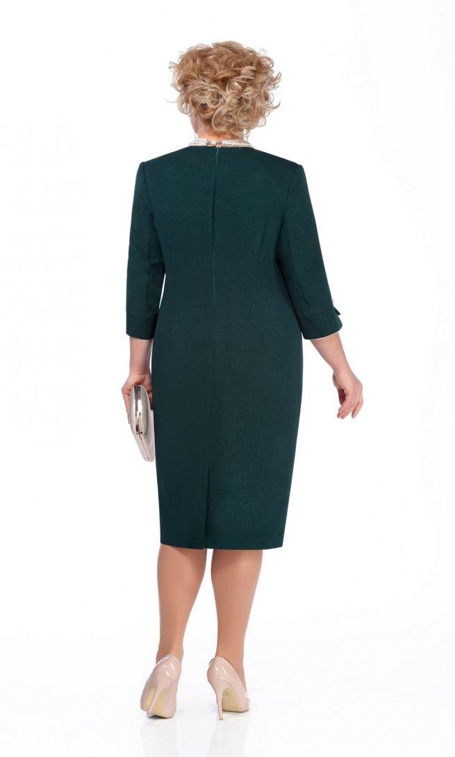 Платье Pretty 975 изумрудное