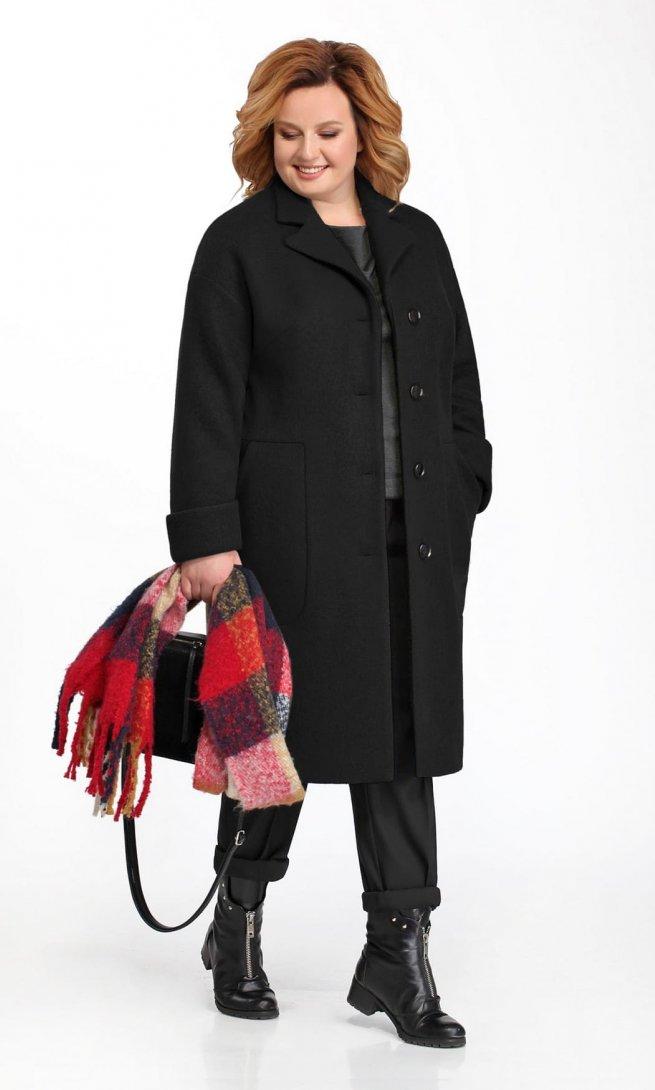 Пальто Pretty 832 черное