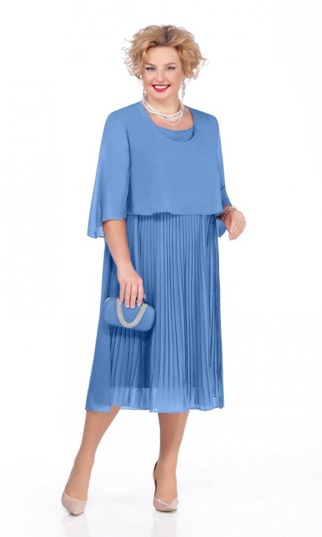 Платье Pretty 960 голубое