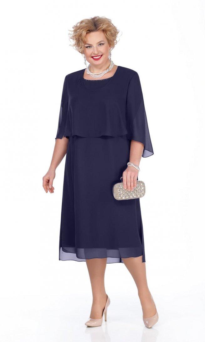 Платье Pretty 976 синее