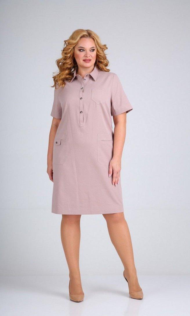 Платье Mamma Moda М-600 грязно-розовый
