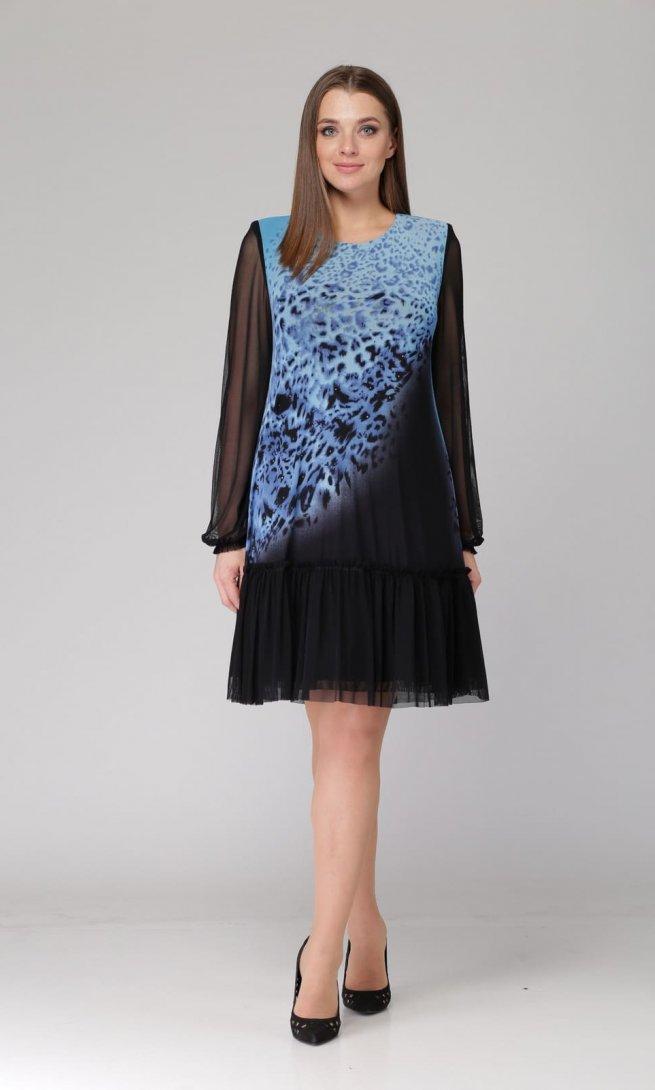 Платье Svetlana style 1054 синее