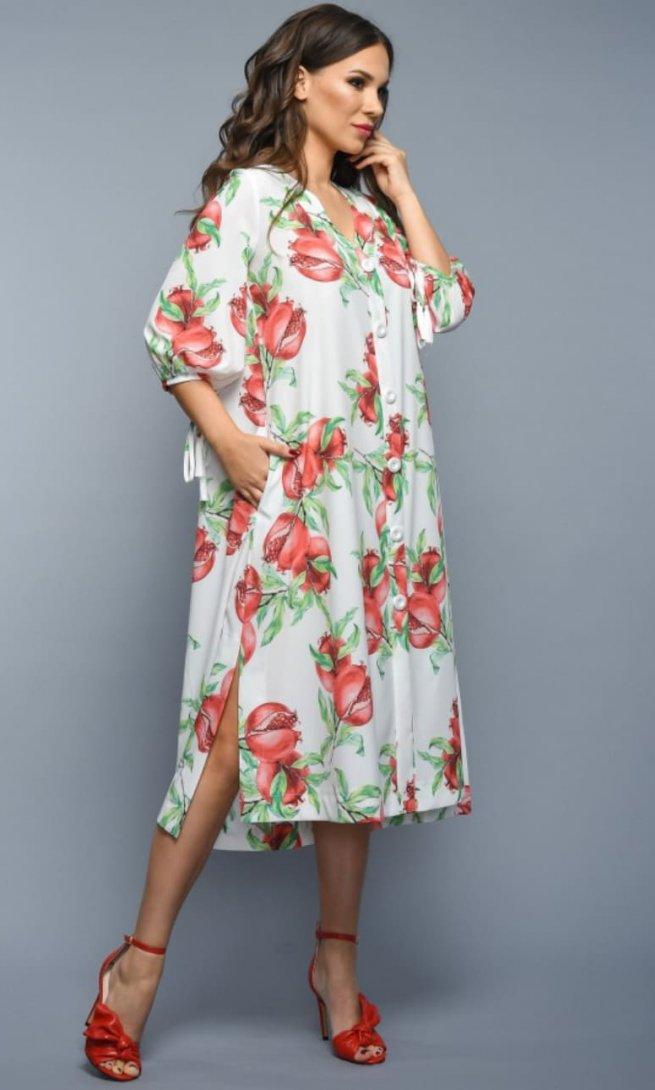 Платье Teffi Style 1338 гранат