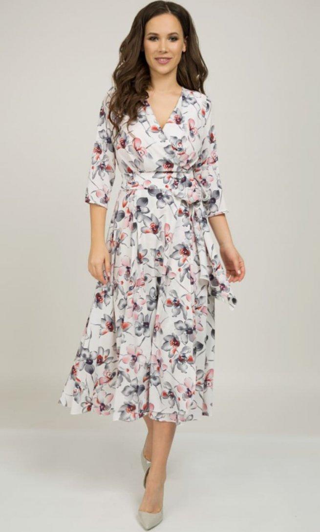 Платье Teffi Style 1396 фуксия