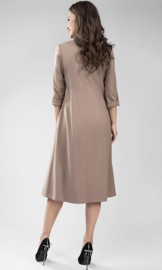 Платье Teffi Style 1436 капучино