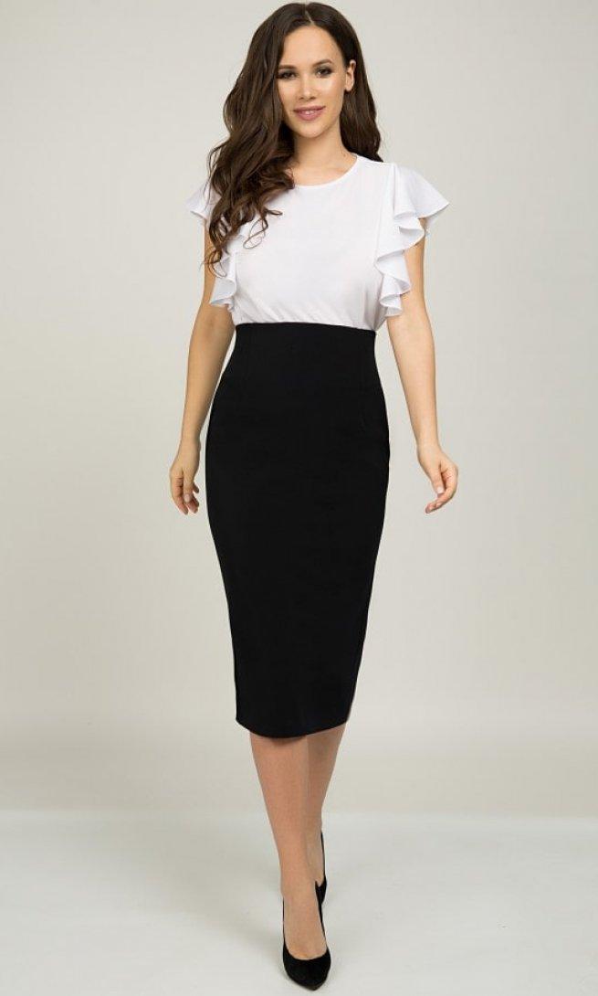 Блуза Teffi Style 1398 белая