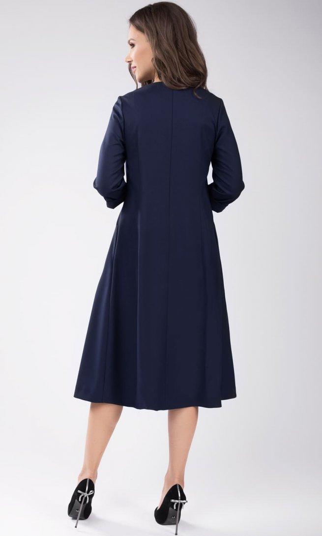 Платье Teffi Style 1436 синее