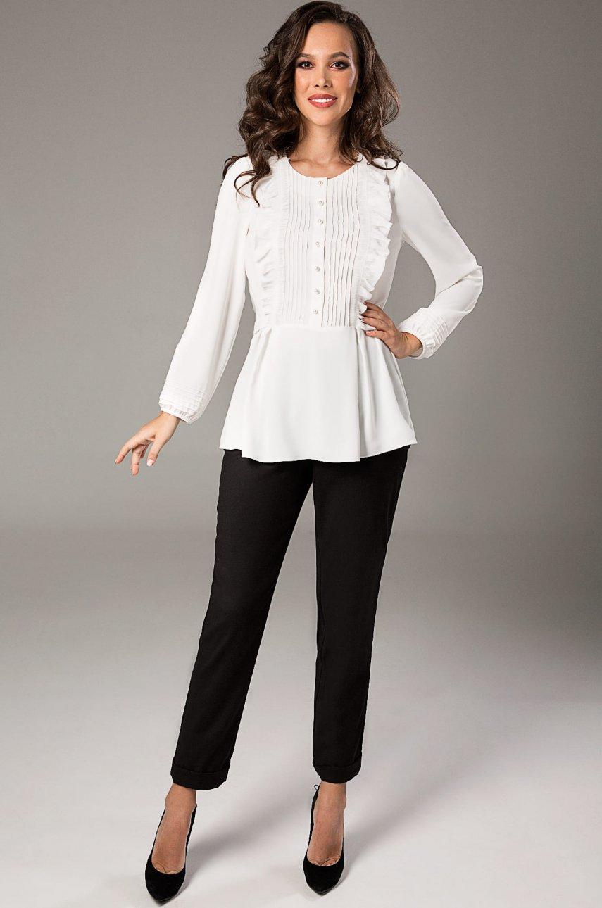 Блуза Teffi Style 1471 белый