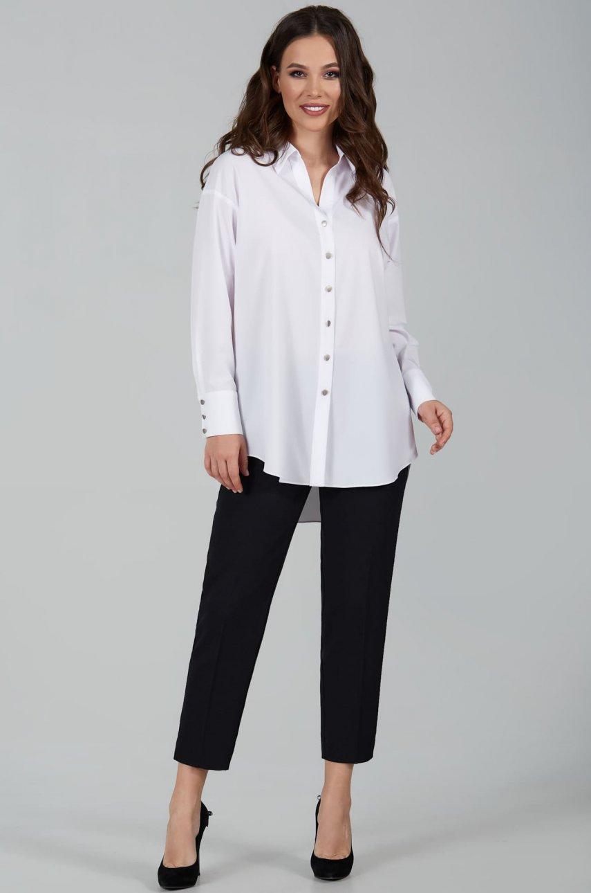 Блуза Teffi Style 1506 белый