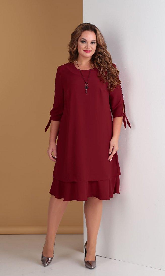 Платье Тэнси 274 вишня
