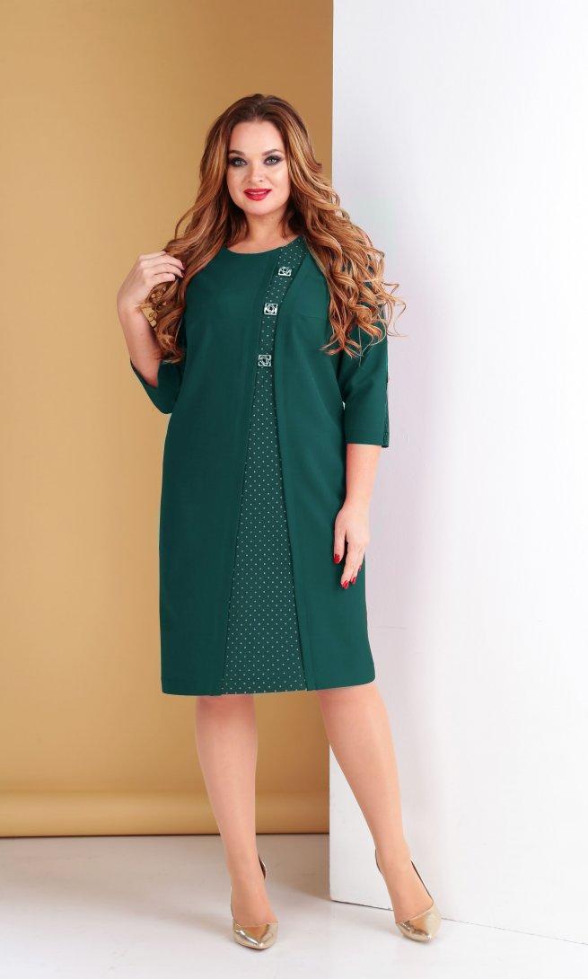 Платье Тэнси 280 изумруд