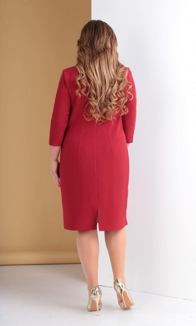 Платье Тэнси 280 вино