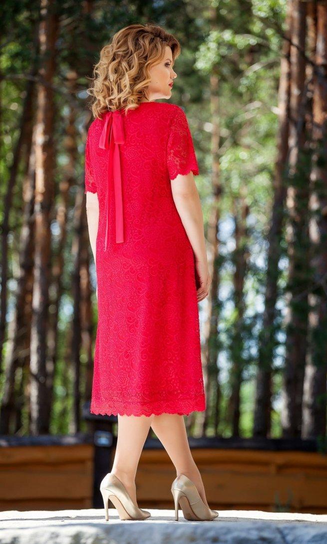 Платье Teza 216 красное