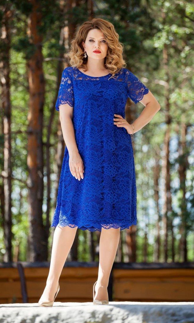 Платье Teza 216 василек