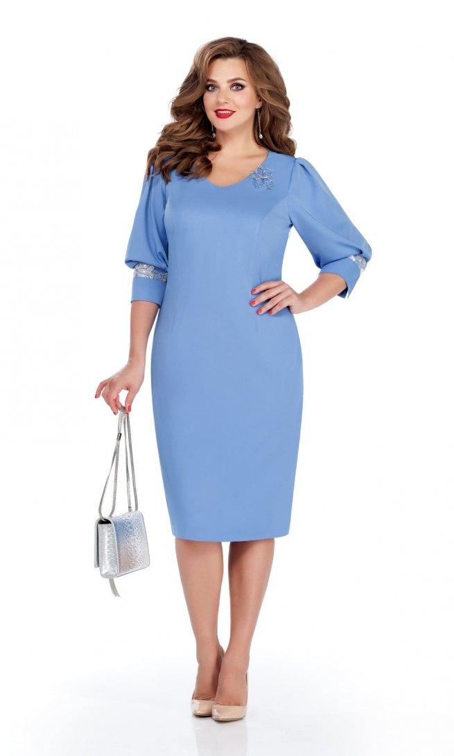 Платье Teza 231-П голубое