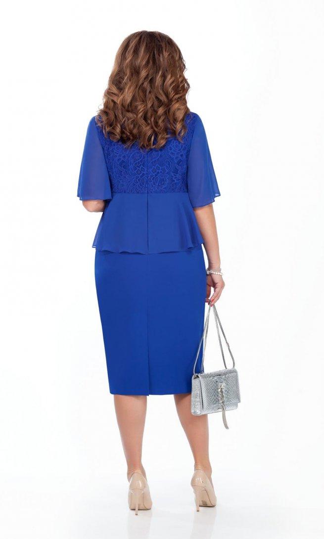 Платье Teza 232 синее