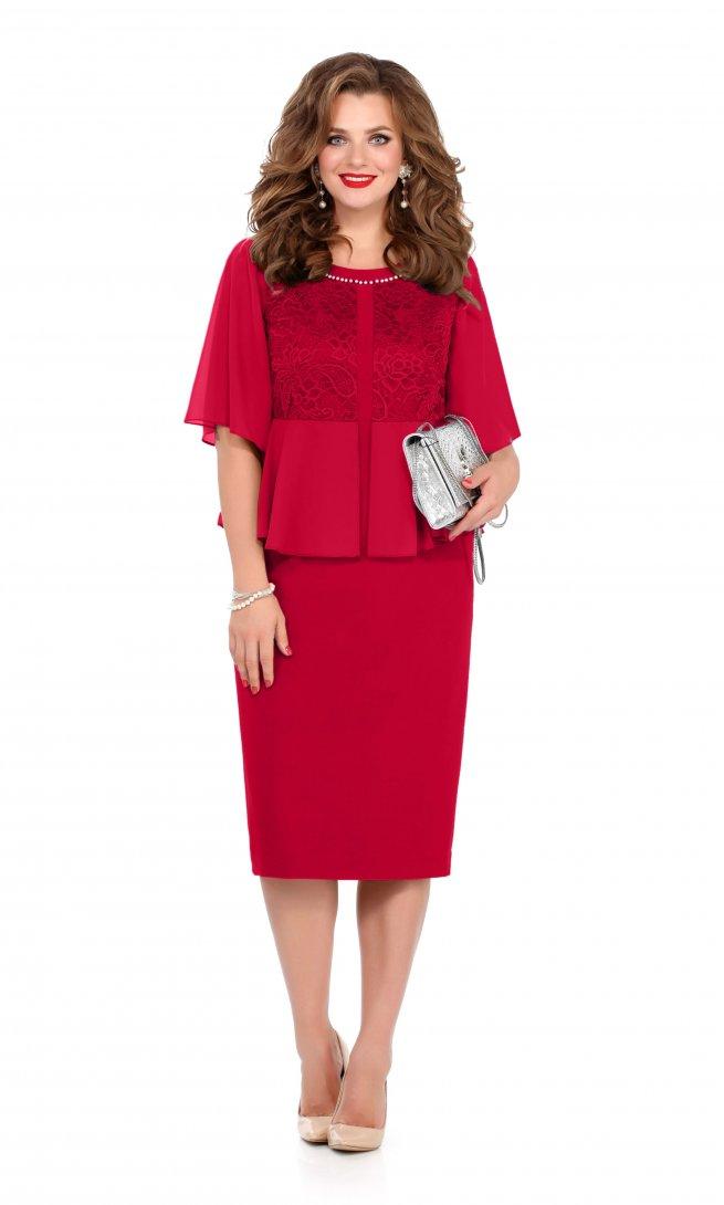 Платье Teza 232 красное